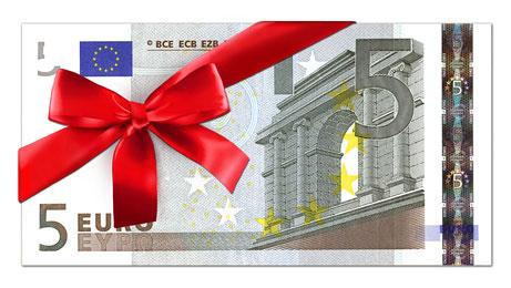 BUFFALO 5 EURO GUTSCHEIN