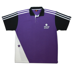 Polo-Shirt Roto Grip purple/schwarz