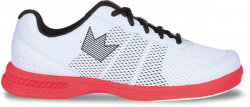 Bowlingschuhe - Brunswick - Fuze White/Red