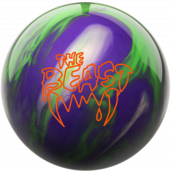 Bowlingball - Bowlingkugel - Columbia 300 - Beast lime/purple/silver