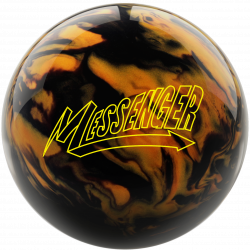 Bowlingball - Bowlingkugel - Columbia 300 - Messenger black/gold