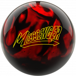 Bowlingball - Bowlingkugel - Columbia 300 - Messenger black/red