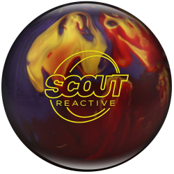 Bowlingball - Columbia 300 - Scout - Red/Purple/Gold