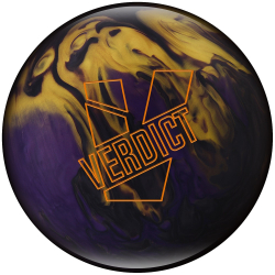 Bowlingball - Bowlingkugel - Ebonite - Verdict Pearl