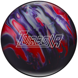 Bowlingball - Bowlingkugel - Ebonite - Turbo/R - Purple/Red/Silver