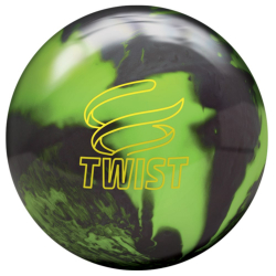 Bowlingball - Bowlingkugel - Brunswick - Twist - Neon Green / Black