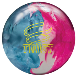 Bowlingball - Bowlingkugel - Brunswick - Twist - Sky Blue/Pink/Snow