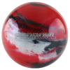 Bowlingball - Bowlingkugel - Pro Bowl - red/black/silver